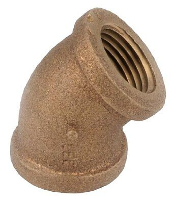 Anderson Metals 738107-08 1/2-Inch  Brass 45-Degree  Low Lead Elbow