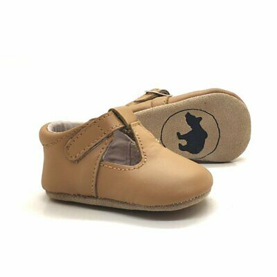 Baby 100% Leather Mary Janes shoes baby girls