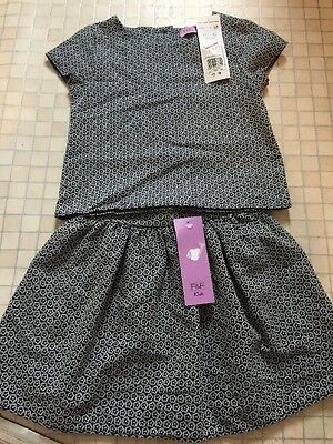 Bnwt Age 3-4 Top And Skirt From F&F