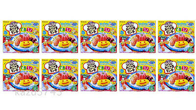 New WHOLESALE 10 Sets Kracie Making Okosama Lunch Happy Kitchen Lots from JAPAN