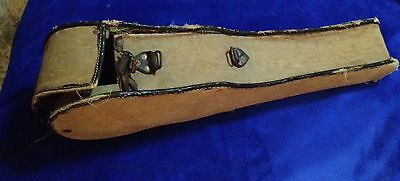 Vintage Soprano Ukulele Case Rough Condition. Really Cool