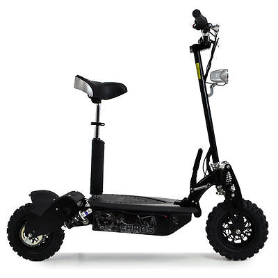 Chaos 48 Volt 1000W Electric Scooter Big Wheel Powerboard All Terrain Seat Adult