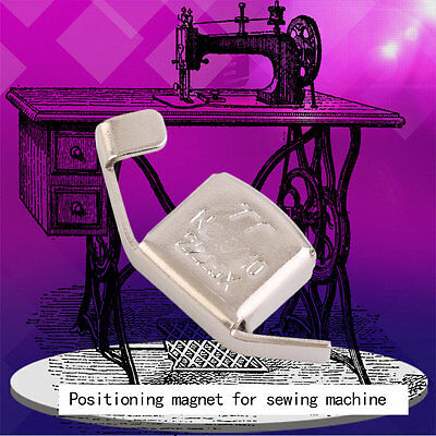 Universal Magnetic Seam Guide Press Feet for Sewing Machines Crafts Parts AU