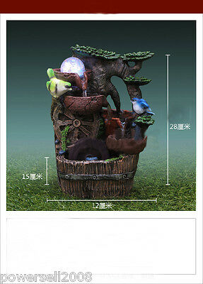 New Fashion Home Decorative Craft Gifts Flowing Water Fountain