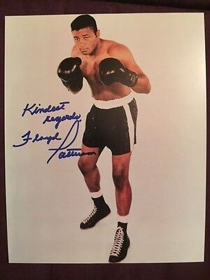 Floyd Patterson (D. 2006) Boxing Autographed Signed Photo