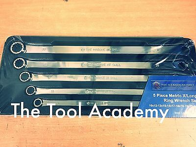 JANUARY SALE! BRITOOL HALLMARK EXTRA LONG FLAT RING SPANNER WRENCH SET 10-22mm
