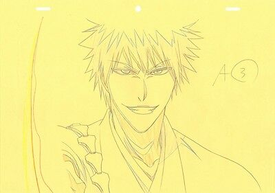 Anime Genga not Cel Production Art Bleach #443