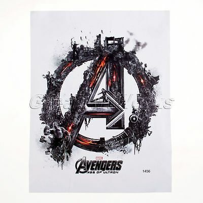 Wall Sticker The Avengers Boys Kids Bedroom Art Decal Mural Super Hero Wallpaper