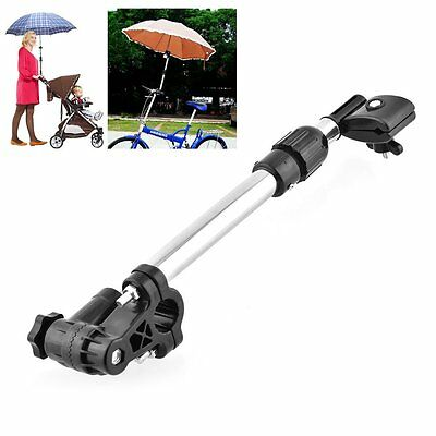 Useful Baby Buggy Pram Bicycle Stroller Chair Umbrella Bar Holder Handle