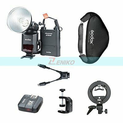 Godox AD360II-N 360W HSS i-TTL Flash & Battery&60x60cm Softbox+X1T-N Transmisor