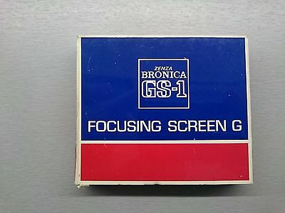 Bronica GS-1 Split Focusing Screen G New Old Stock - NOS