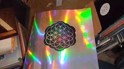 Coldplay.a Head Full Of Dreams.tour Programme+16 Stickers New Mint