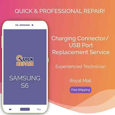 Samsung Galaxy S6 Charging Connector/ USB Port Replacement Repair Service