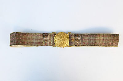 Antique WW2 Royal Bulgarian Military Officer Parade Belt Army