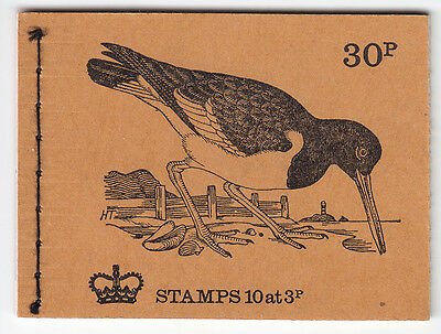 GB Booklet DQ 72a  Buff Cover  Nice Condition