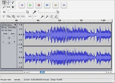 Audacity Multi-Track Music Editing Editor Recording NEW Software Program on CD