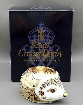 Royal Crown Derby IVY HEDGEHOG Paperweight - 1st Quality Boxed
