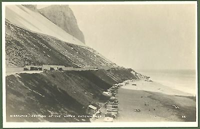 Orient Line Postcard Gibraltar Early C20th Section of the Water Catchment View