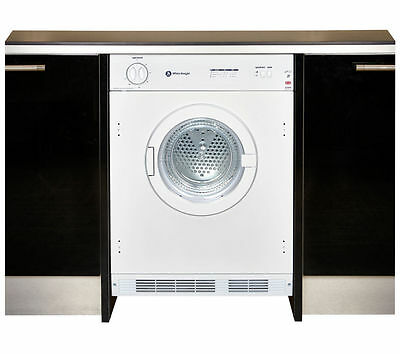 WHITE KNIGHT C43AW Integrated Vented Tumble Dryer - White #6670812