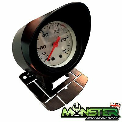52mm Car Gauge Holder / Gauge Pod with Visor for Boost Gauge, Oil Temp etc