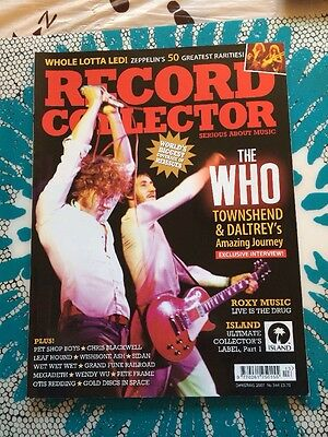 Record Collector Magazine Christmas 2007 Issue No 344 The Who Otis Redding Music
