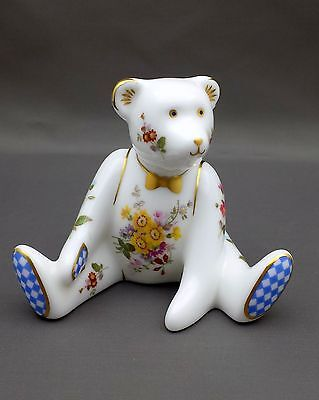 Royal Crown Derby POSIES BEAR BOY Paperweight 1st Quality No Box