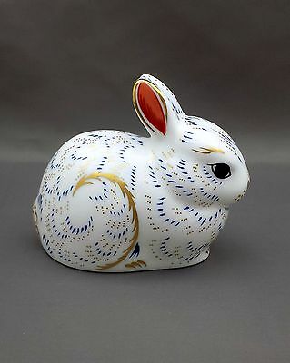 Royal Crown Derby BUNNY Paperweight 1st Quality No Box
