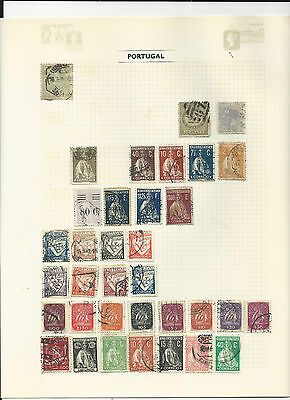 Trade Price Stamps  Portugal On Album Pages