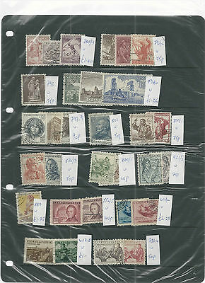 Trade Price Stamps Czechovslovakia Unmounted Mint & Used Collection 12 Sheets