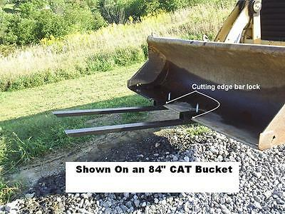 Clamp on Bucket Forks  1200# Capacity  FREE SHIPPING!