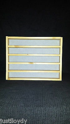 New** 50. thimble display rack in Beech
