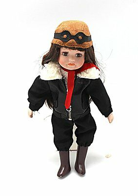 Emilia Earhart Collectible Porcelain Doll by The Royalton Collection