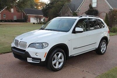 2009 BMW X5 35d Diesel One Owner Perfect Carfax Heated Seats Nav Pano Roof Premium Pkg Tech Pkg