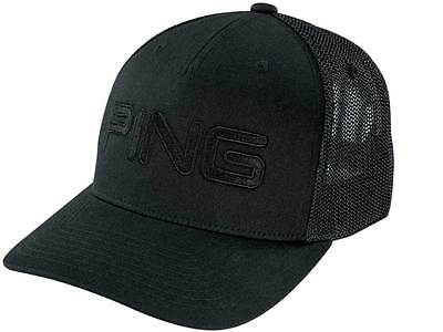 Ping Tour Mesh Cap Black