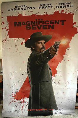 Cinema Banner: MAGNIFICENT SEVEN, THE 2016 (Goodnight Robicheaux) Ethan Hawke