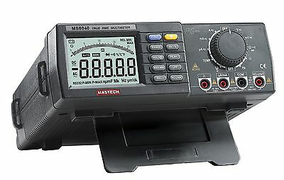 MS8040 Profi Labor-Multimeter MASTECH 22000 Counts RS232 Schnittstelle Software