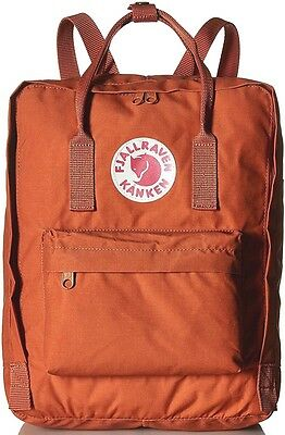 NEW FJALLRAVEN Kanken Backpack Classic School bag 23510 in Brick 164