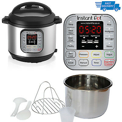 Pressure Cooker Electric 1000 W Power Instant Pot 7-in-1 6 Litre