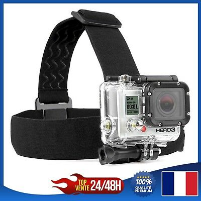 Harnais Sangle élastique de tête ajustable PULUZ GoPro Hero HD 2 3 3+ 4 SJCAM