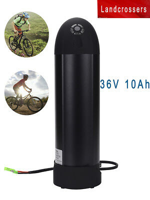 DuraB WaterProof 36V 10AH  Bottle Lithium for Electronics Bicycles Battery+BMS