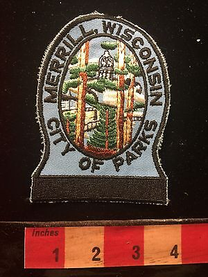 Merrill Wisconsin Patch ~ City Of Parks S60B