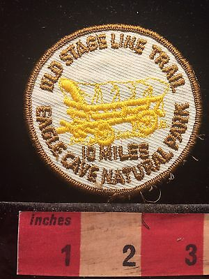 Vtg Eagle Cave Natural Park Old Stage Line Trail Wisconsin Patch S60B