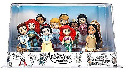 Disney Animator's Collection Deluxe Figurines, Set of 11 - New and boxed