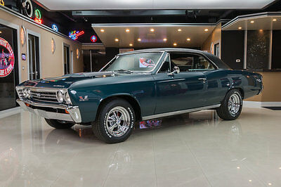 1967 Chevrolet Chevelle  Frame Off Restored! 396/375HP 4-Speed, PB, Disc, 138 True SS
