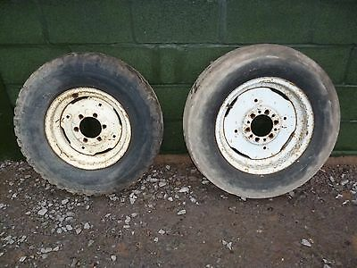 front wheels for tractor