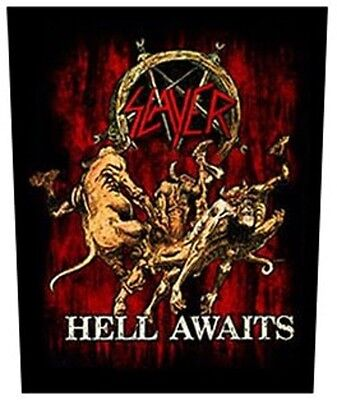Slayer BACK PATCH New Official Hell awaits