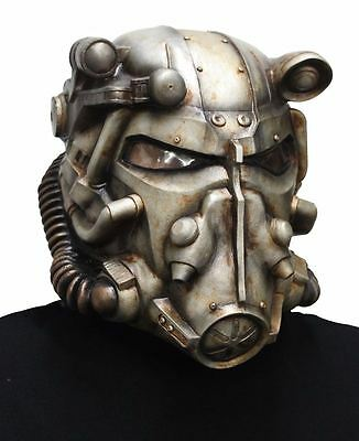 Bethesda Fallout Power Armor Adult Helmet Licensed 01336908 New
