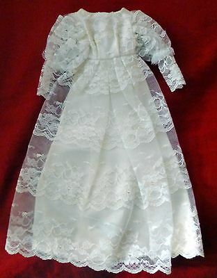 Vintage Francie Victorian Wedding (1960-1970) #1233 Dress Only Near Mint