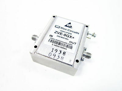 Mini-Circuits Zve-8Gx+ Amplifier Medium High Power 2000 To 8000 Mhz Coaxial