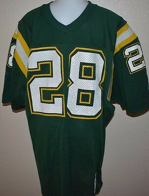 Vintage Sand Knit Football Jersey Large MacGregor High School College Game Worn